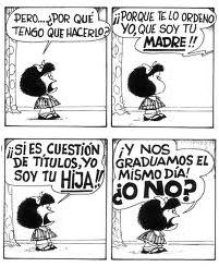 Mafalda - Madre e hija